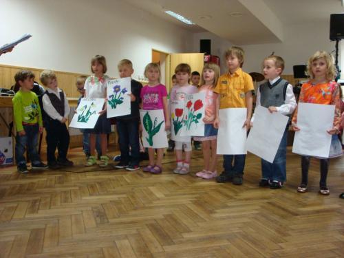 Vystoupení dětí zMŠ - básničky