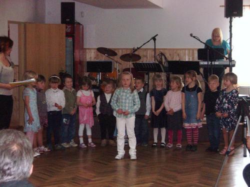 Vystoupení dětí zmateřské školy Vavřinec