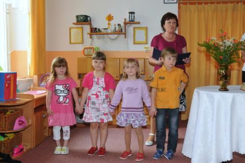 Přednášející děti zmateřské školy